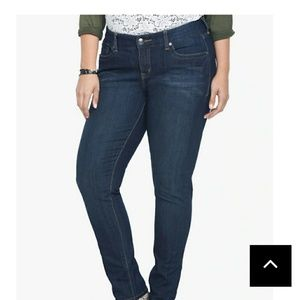 Torrid Curvy Skinny Jeans - Tall - Size 14T
